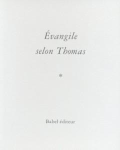 Évangile selon Thomas